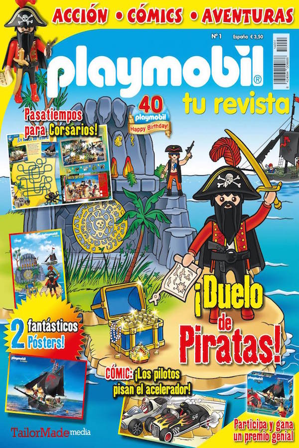 Revista Playmobil nº 1