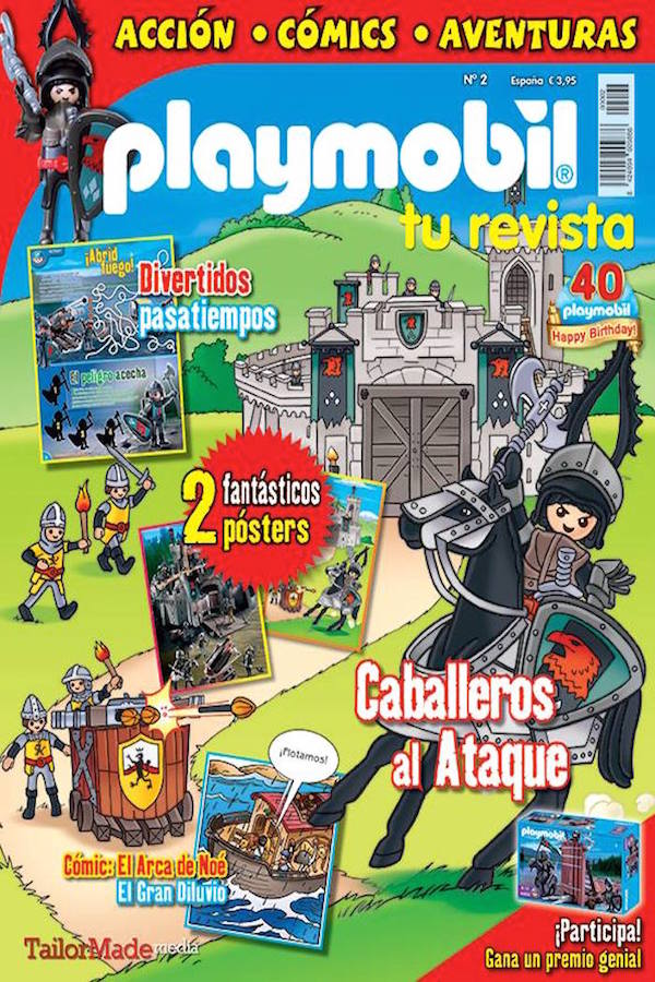 Revista Playmobil nº 2
