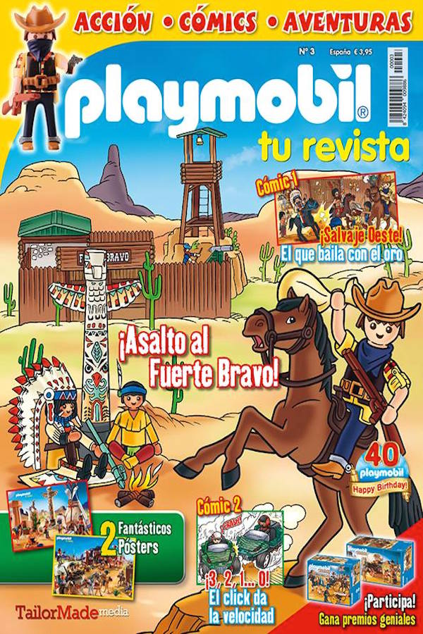 Revista Playmobil nº 3