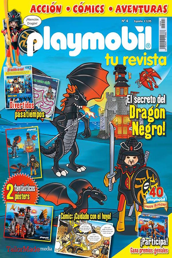 Revista Playmobil nº 4