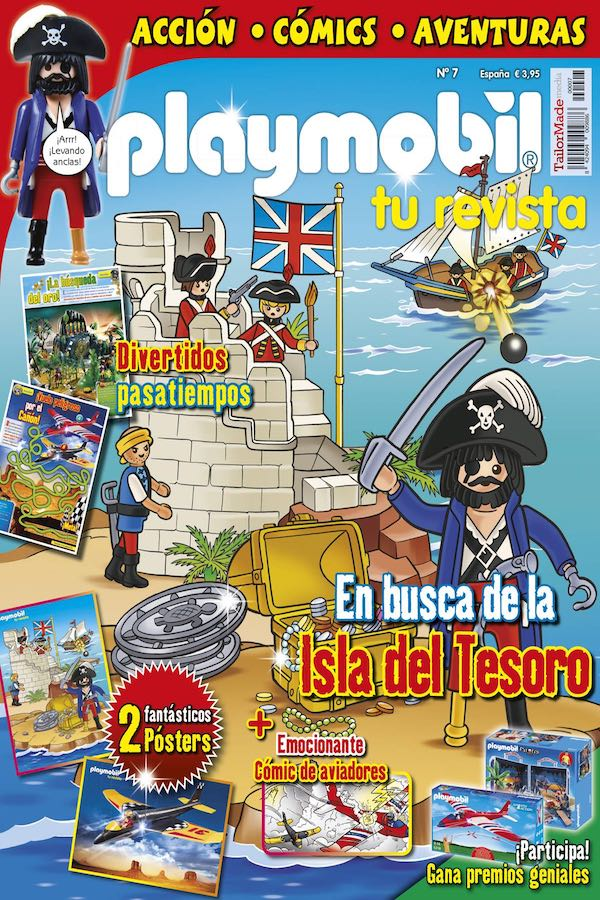 Revista Playmobil nº 7