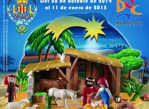 Belén de Playmobil Falla Duque de Gaeta Valencia