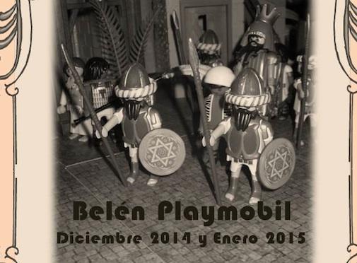 Belén de Playmobil en Alcalá de Henares