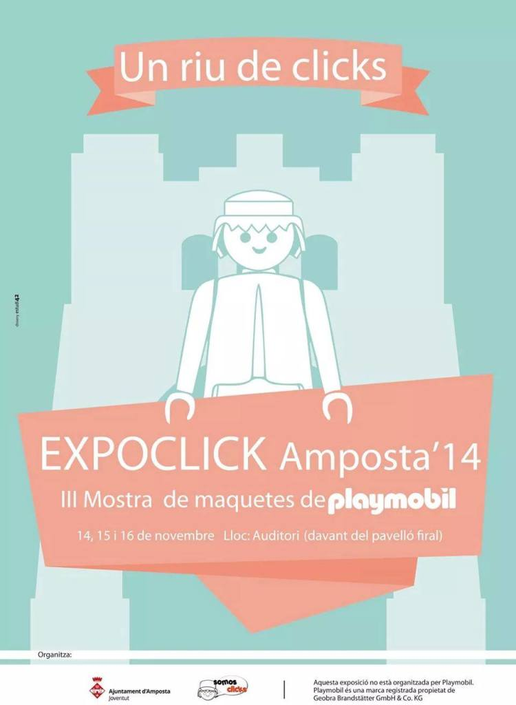 Feria Playmobil Expoclick Amposta'14