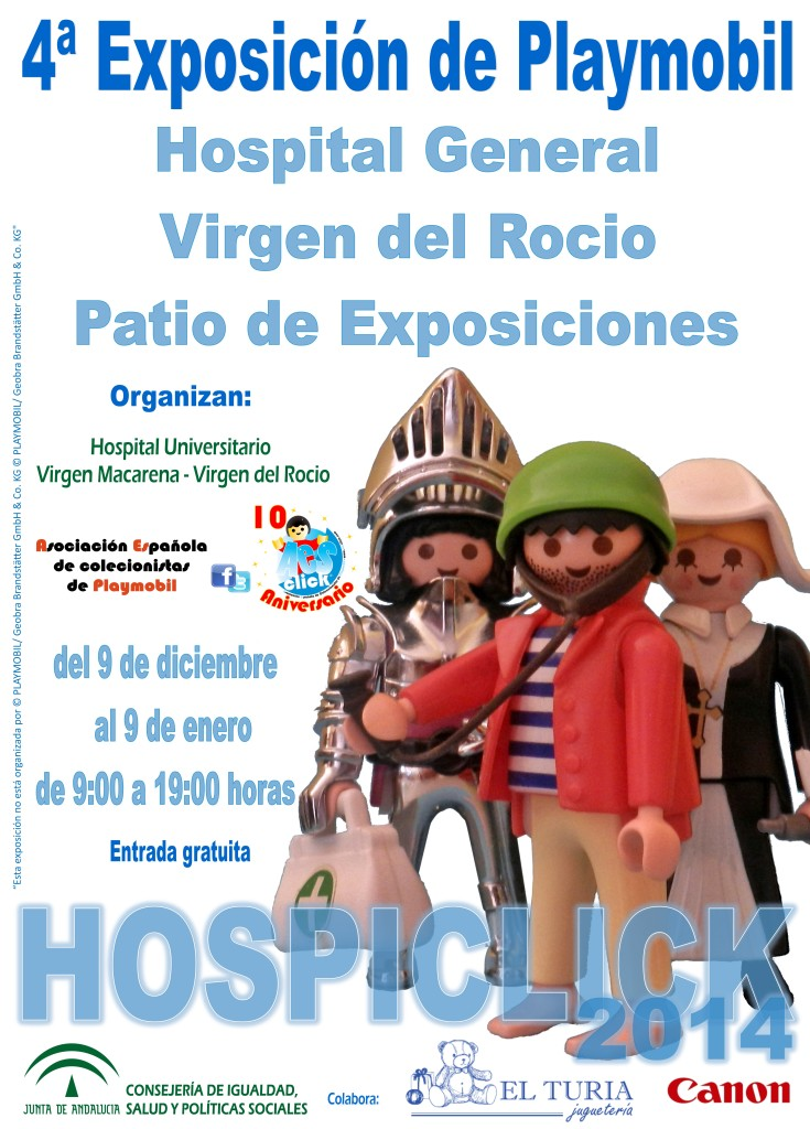 Hospiclick Expo de Playmobil en Sevilla
