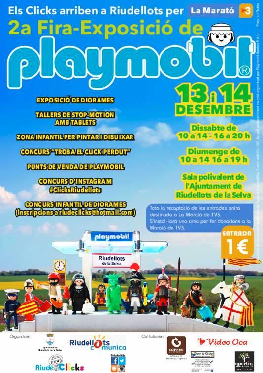 Feria-Expo de Playmobil Riudellots