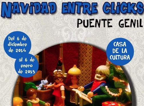 Navidad entre Clicks de Playmobil Puente Genil