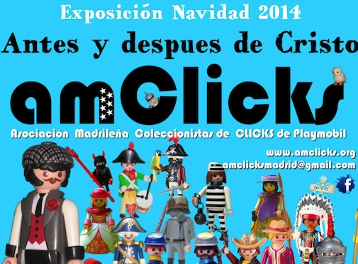 Antes y después de Cristo Expo de Playmobil