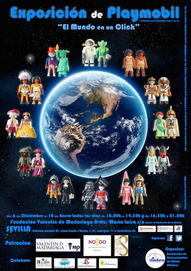 El Mundo en un Click de Playmobil Madariaga