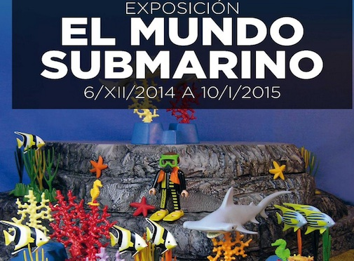 Exposición de Playmobil en el Acuario de Sevilla