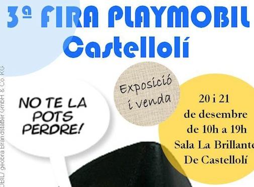 Feria Playmobil en Castellolí