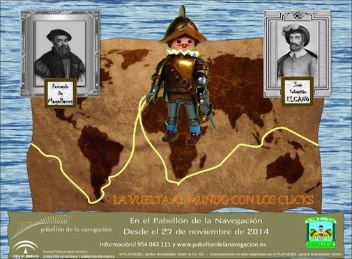 La Vuelta al mundo con los Clicks Playmobil Sevilla