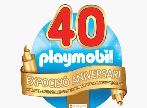 Exposición 40 Aniversario de Playmobil