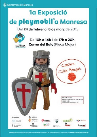 1º Exposición de Playmobil en Manresa