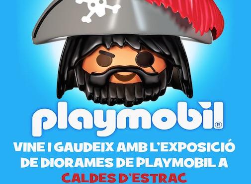 Exposición de Playmobil en Caldes d' Estrac