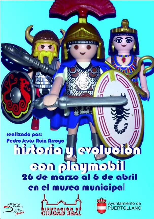 Historia y evolución con Playmobil