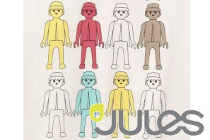 Camisetas Playmobil Jules