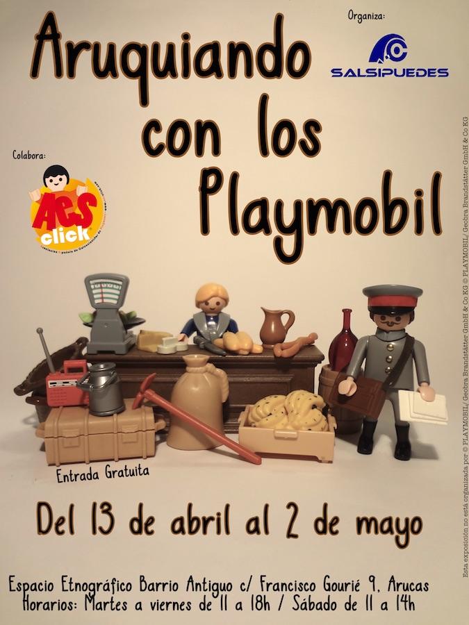 Aruquiando con los Playmobil