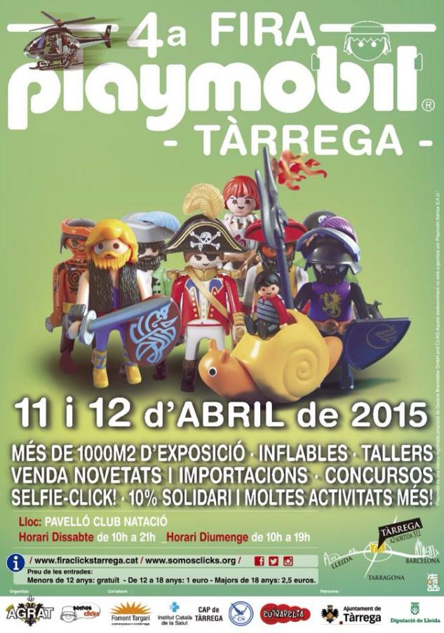 Feria de Playmobil en Tàrrega