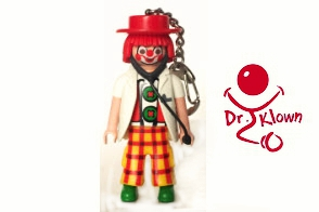 Dr. Klown Llavero Playmobil