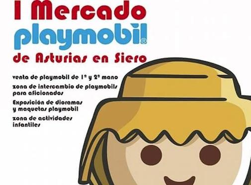 Mercado Playmobil en Pola de Siero