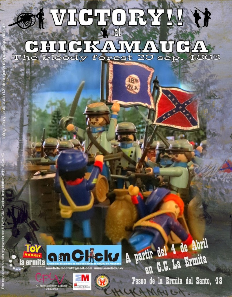 Victory at Chickamauga Playmobil