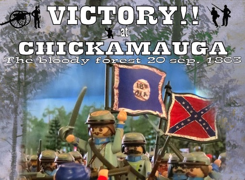 Victory at Chickamauga Playmobil