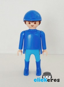 Blue Horse Blue Knight Playmobil
