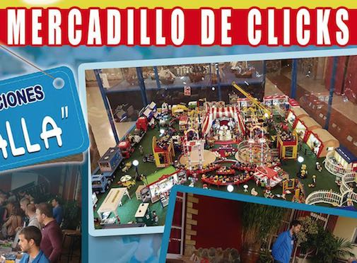 Mercadillos de Playmobil en Andalucía