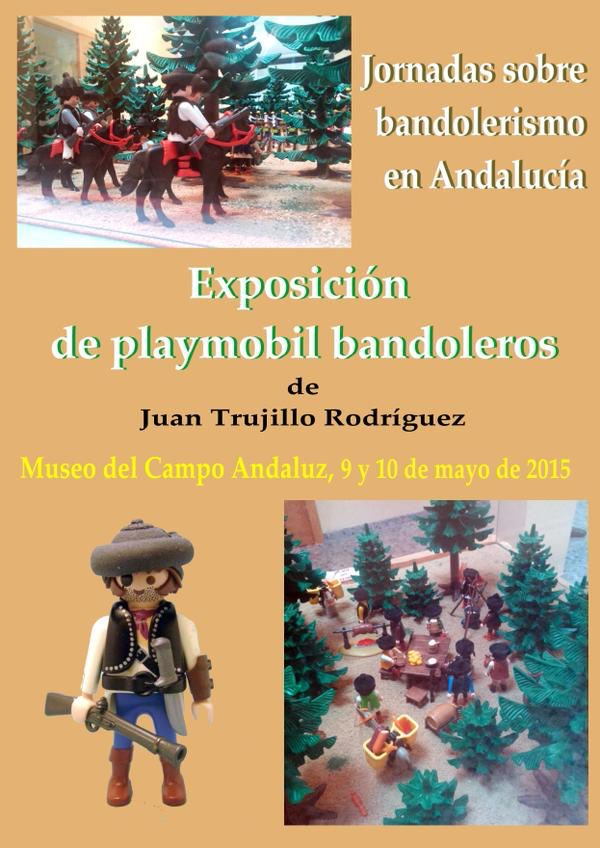 exposición Playmobil Bandoleros
