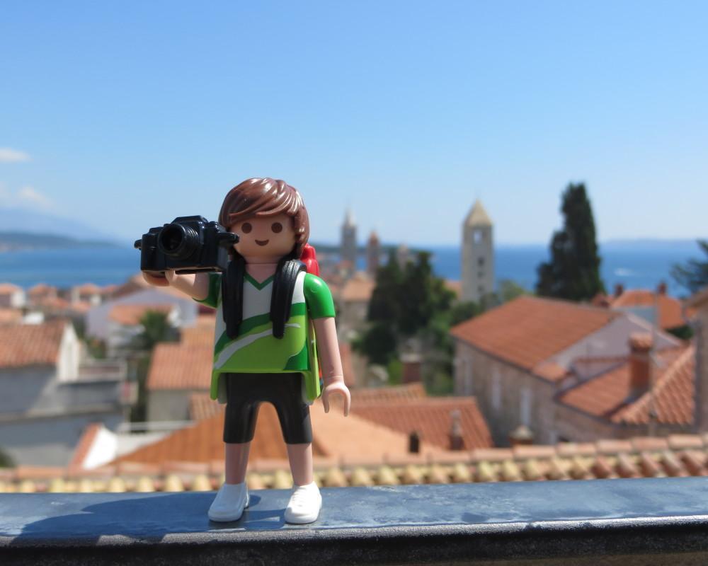 Tim, el Playmobil viajero