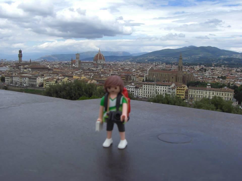 Tim, el Playmobil viajero Florencia