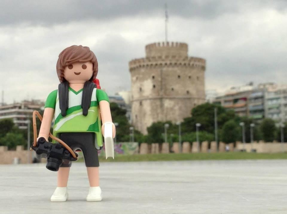 Tim, el Playmobil viajero Grecia