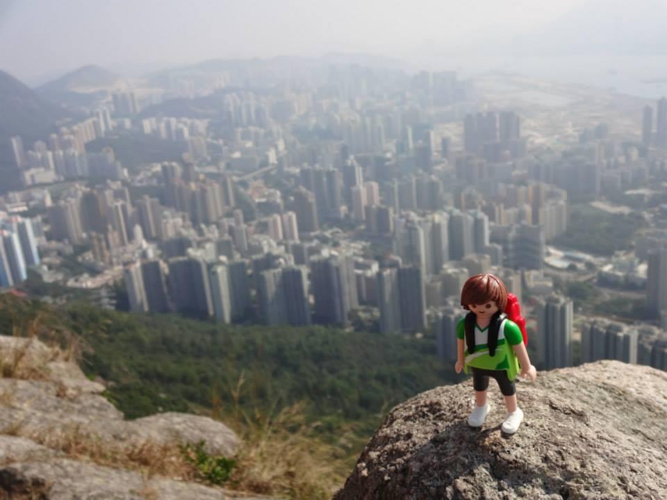 Tim, el Playmobil viajero Hong Kong