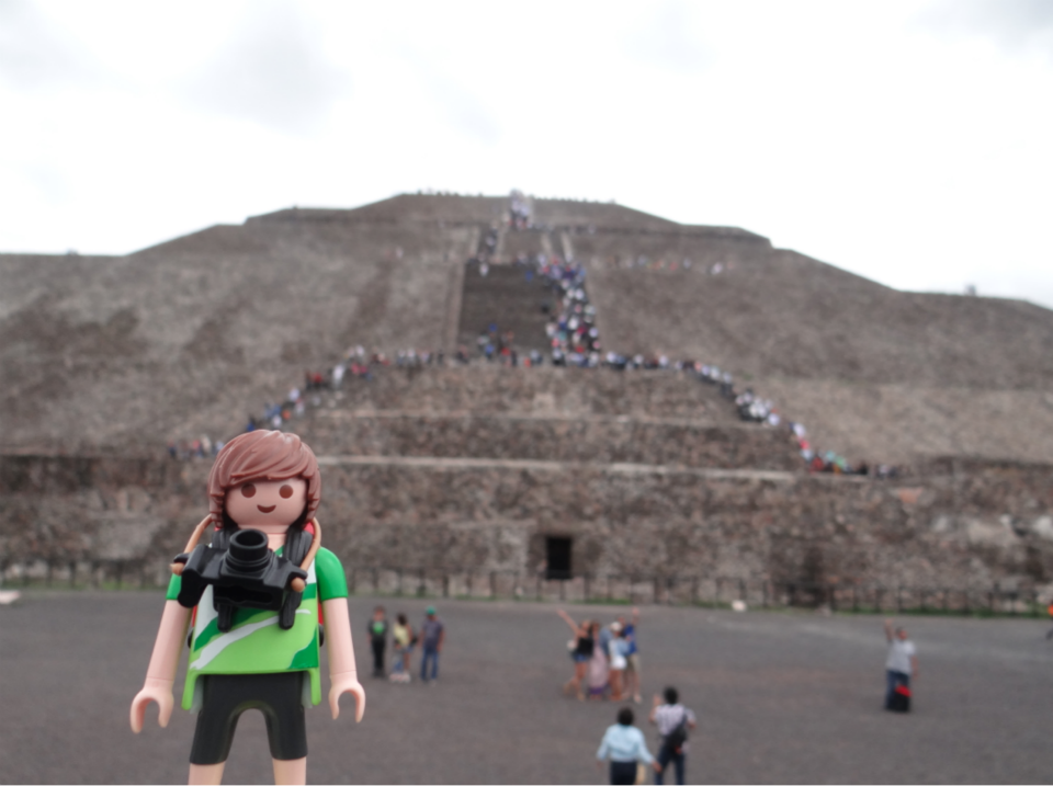 Tim, el Playmobil viajero Mexico