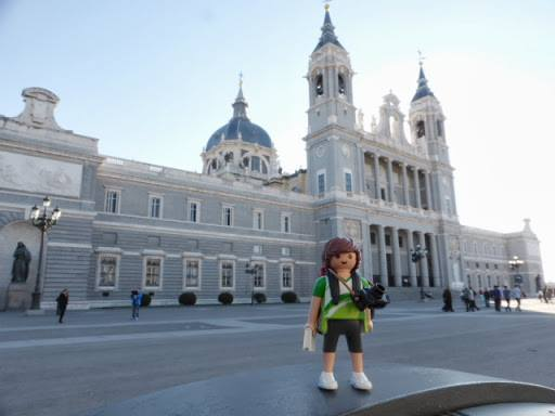 Tim, el Playmobil viajero Madrid