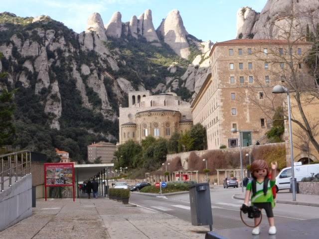 Tim, el Playmobil viajero Montserrat Barcelona