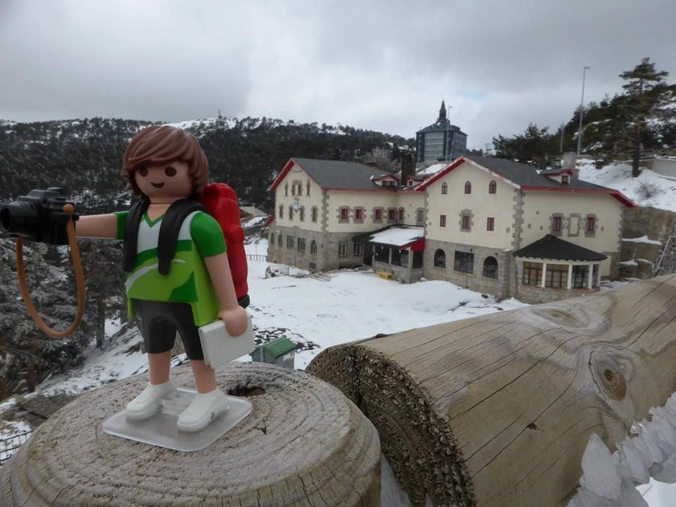 Tim, el Playmobil viajero Navacerrada Madrid