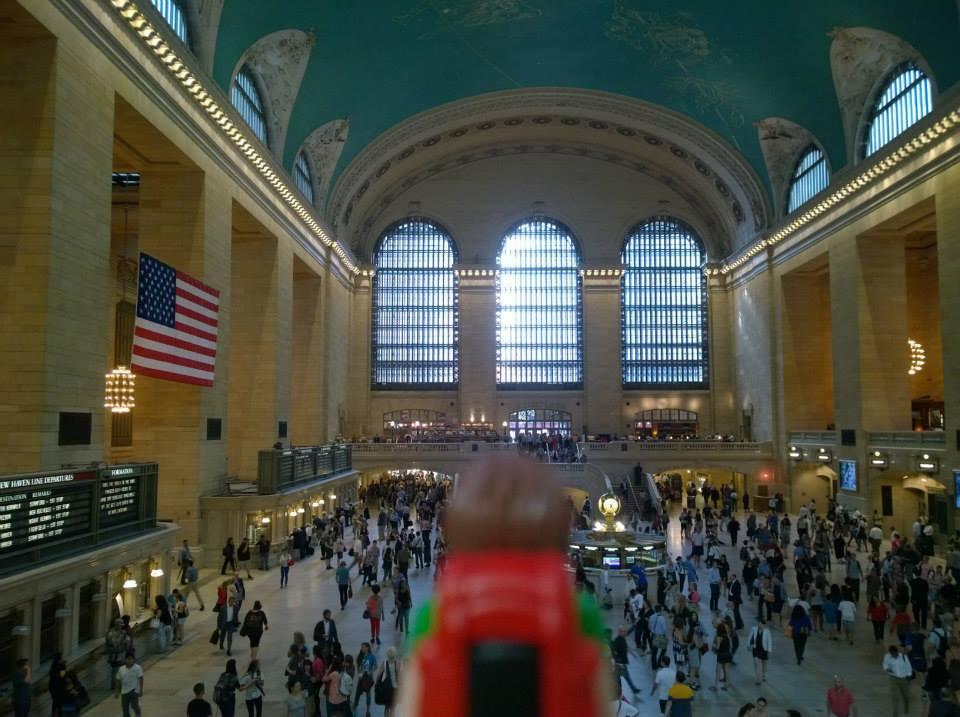 Tim, el Playmobil viajero Nueva York