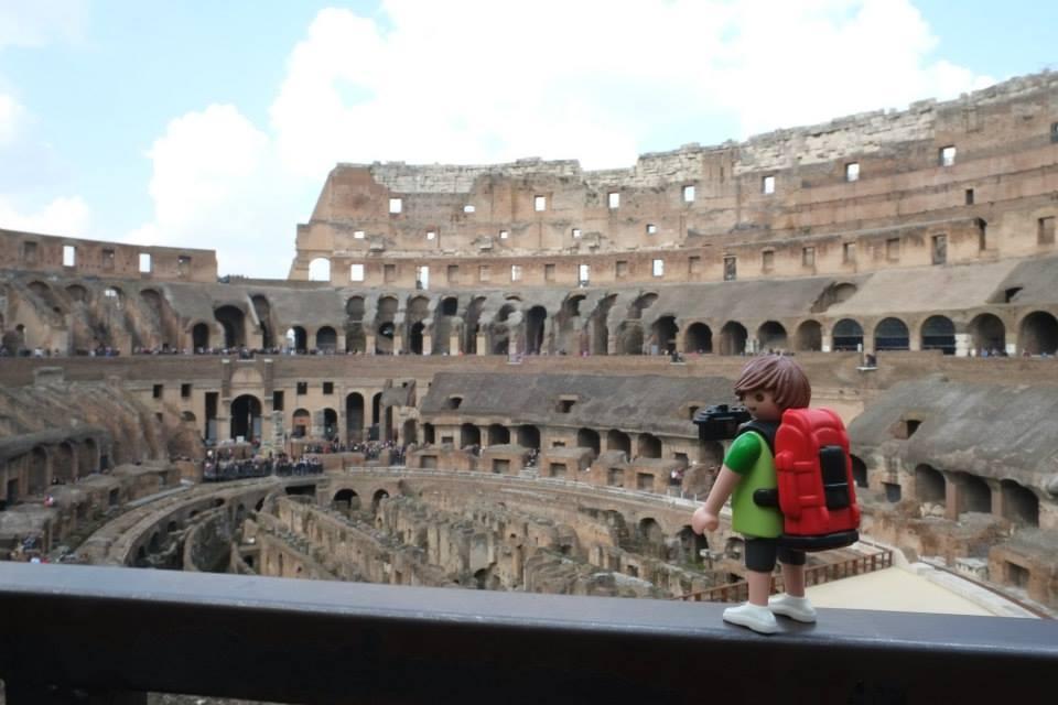 Tim, el Playmobil viajero Roma