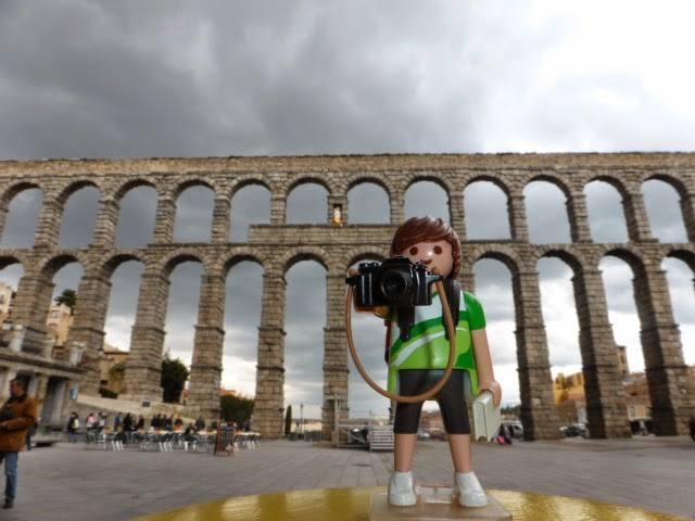 Tim, el Playmobil viajero Segovia