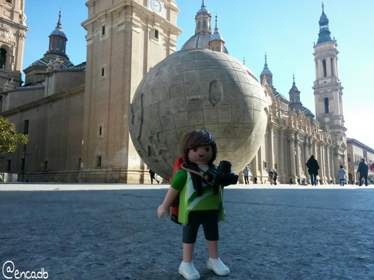 Tim, el Playmobil viajero Zaragoza