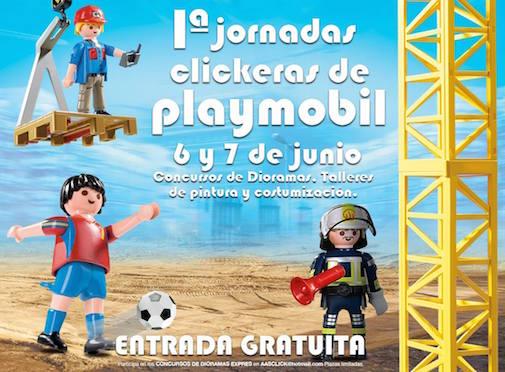 1º Jornadas Clickeras de Playmobil