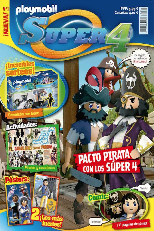Revista Playmobil Super4