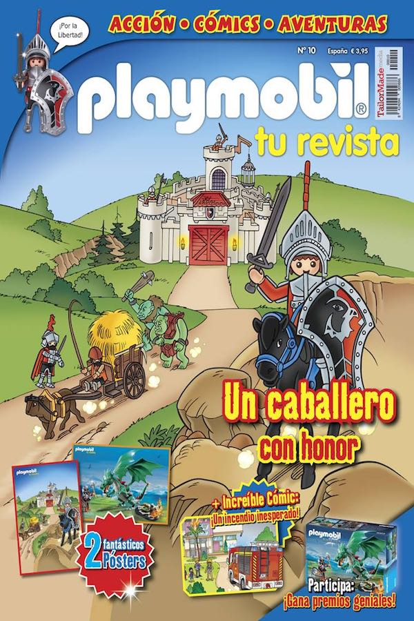 Revista Playmobil nº 10