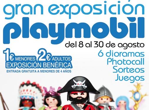 Exposición de Playmobil en Almería
