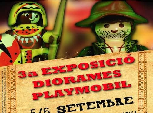 III Exposición de Playmobil Móra la Nova