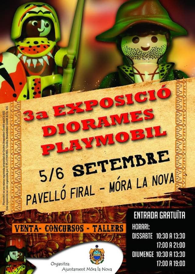 III Exposición de Playmobil Mòra la Nova