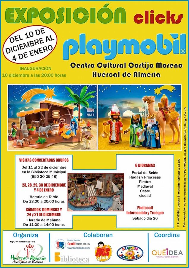 Exposiciones de Playmobil en Andalucía
