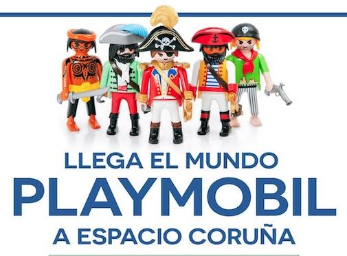 Llega el Mundo Playmobil a Espacio Coruña